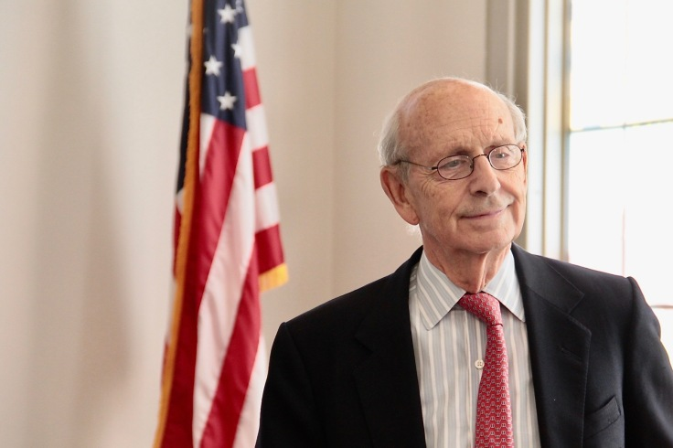 Supreme Court Breyer at Museum00000