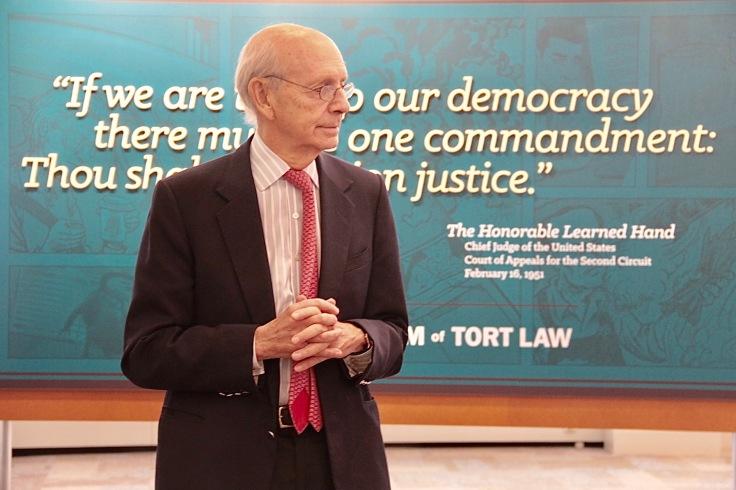 Supreme Court Breyer at Museum00001