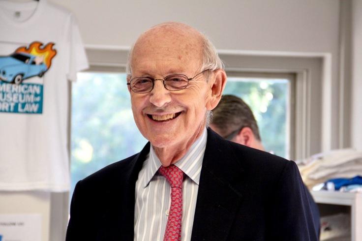 Supreme Court Breyer at Museum00034