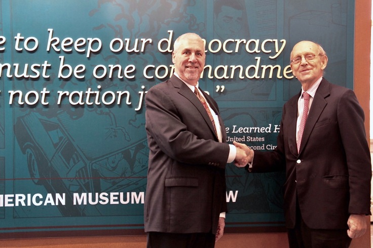 Supreme Court Breyer at Museum00040
